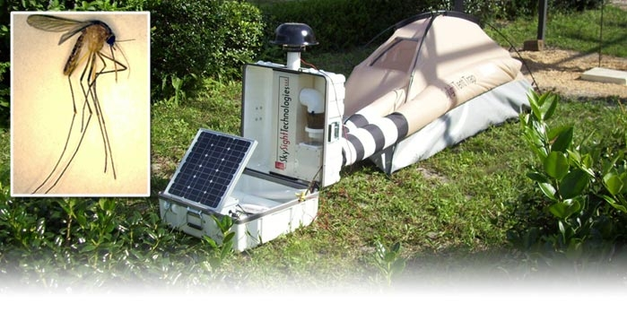 Insect Collecting Tent Trap & Insect Collecting Tent Trap - SkySight Technologies
